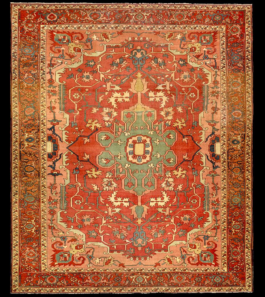Antique Serapi Rug Azerbaijan Nw Iran 19th Century 8 39 6