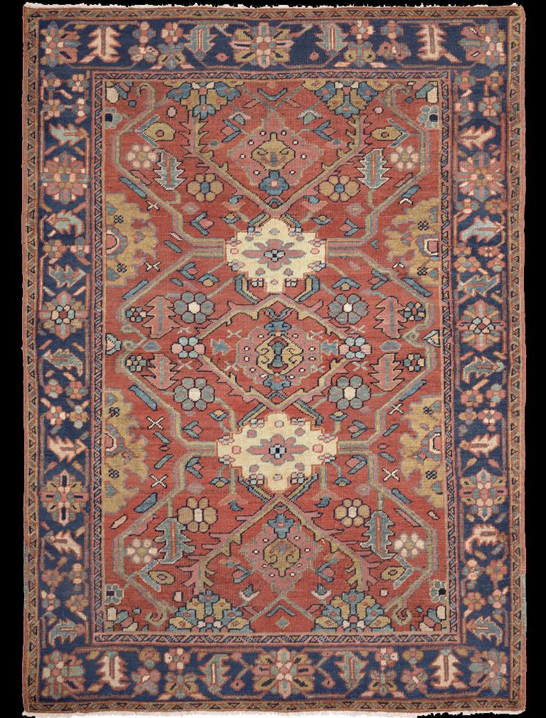Antique Serapi Rug Azerbaijan Nw Iran 19th Century 4