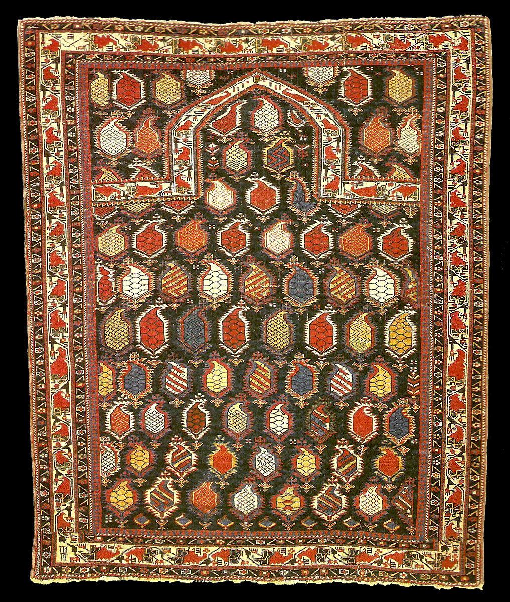Prayer Rug Types: Jerome And Mary Jane Straka's Early Shirvan Marasali