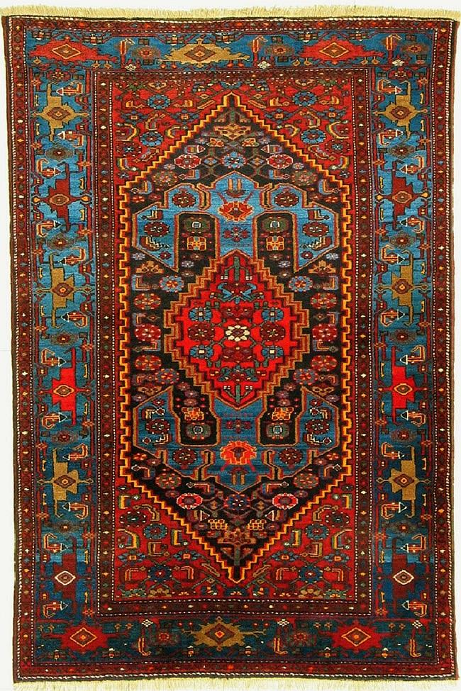 Old Persian Zanjan Carpet