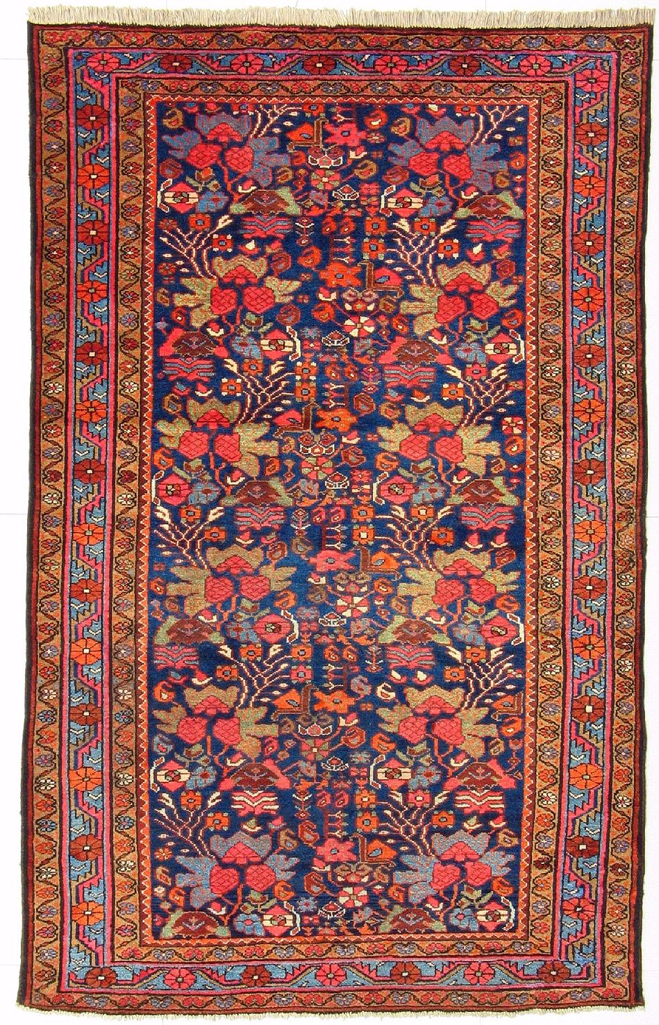 Old Persian Azerbaijani Zanjan Rug