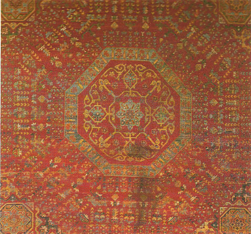 Mamluk Carpet 16th Century 214 Sterreichisches Museum F 252 R