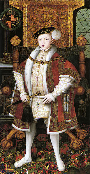 Edward Vi By An Unknown Artist C 1547 Oil On Panel