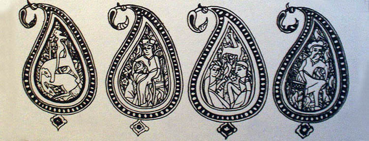oriental rugs u0026gt caucasian rugs u0026gt ornamental elements of
