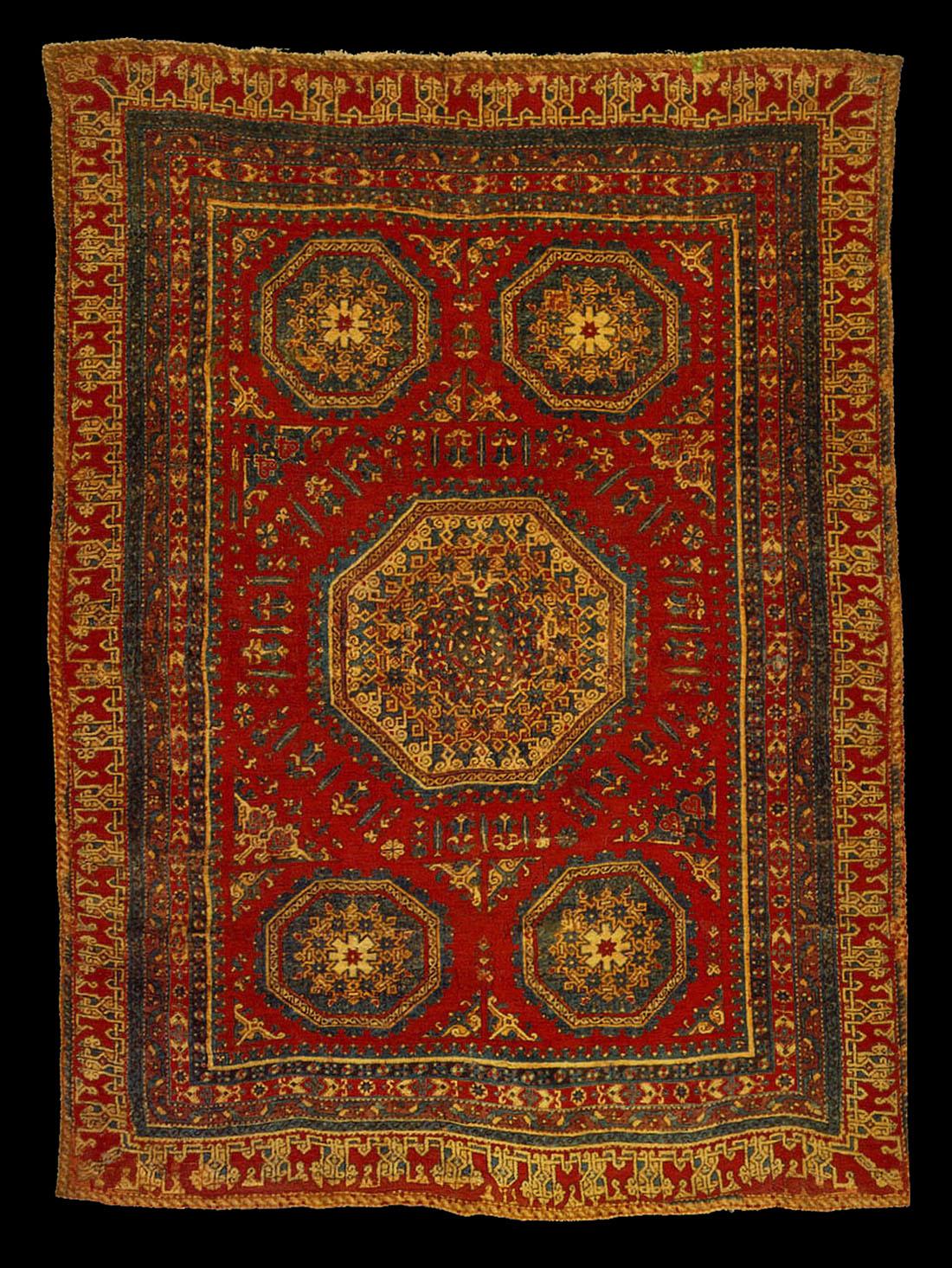 Para Mamluk Rug 16th Century Philadelphia Museum Of Art