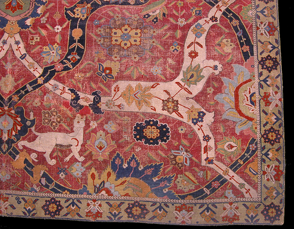 Safavid Carpet Early 17th Century The Metropolitan