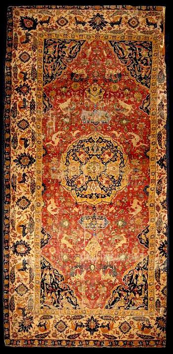 Victoria Amp Albert Museum Safavid Carpet Early 17th Century