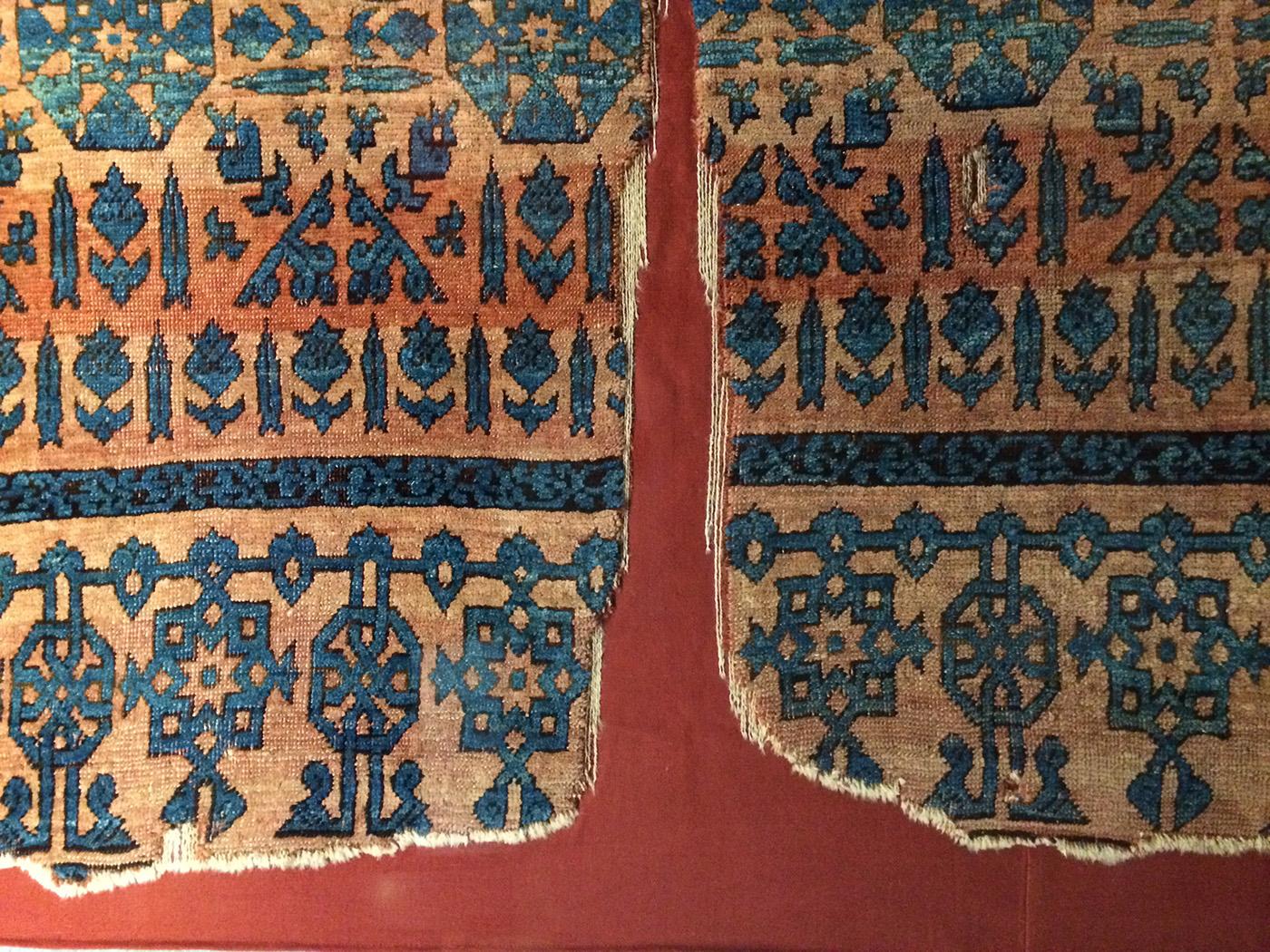 Seljuk Carpet 13th Century Turkey Vakiflar Carpet